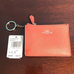 NWT Authentic Coach Card Holder